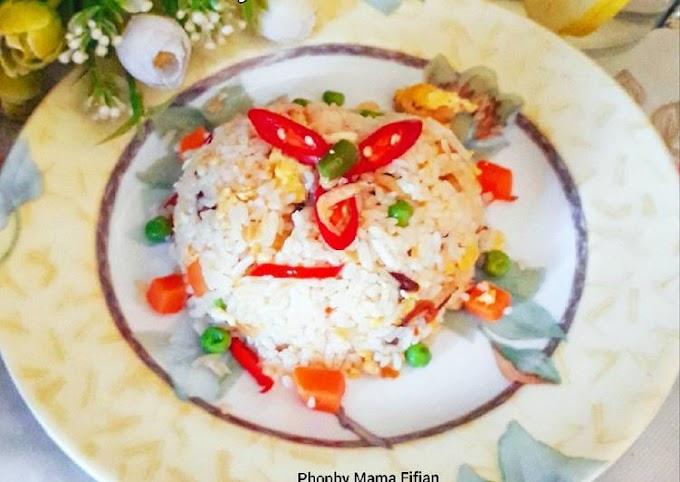 Cara Mudah Memasak Nasi Goreng Rebon Telur Blueband Cita Rasa Tinggi