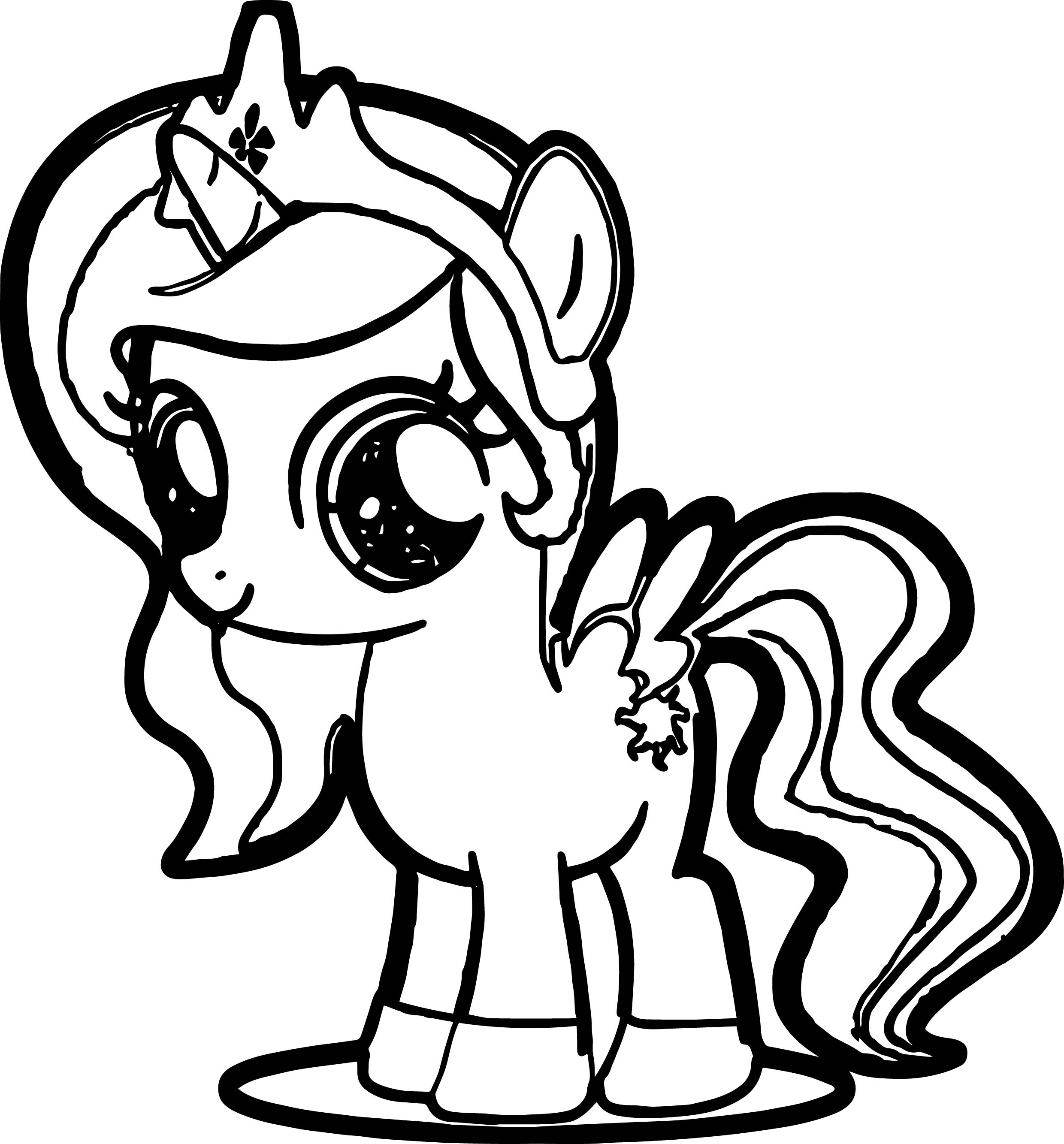 8300 Top Coloring Pages Printable Little Pony Images & Pictures In HD