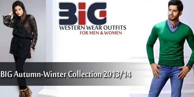 Mens-Women-Wear-New-Fashion-Dress-by-BIG Autumn-Winter-Collection-2013-14-