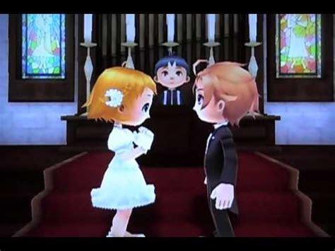 Harvest Moon: Animal Parade   Chase/Maya Rival Wedding