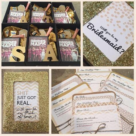 Bridesmaids Proposal boxes   wedding   Pinterest