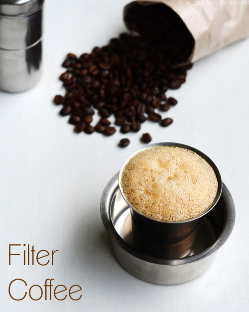 Filter coffee - step by step