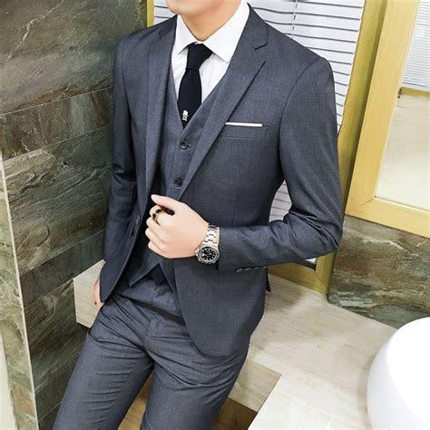 Mens Wedding Suits 2018 Brand New Tuxedo Suit Latest Coat