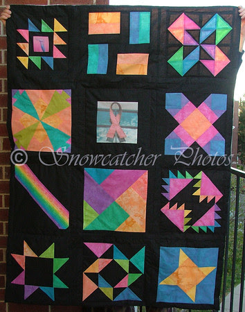 Race for the Cure Quilt