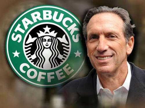 Image result for starbucks ceo howard schultz