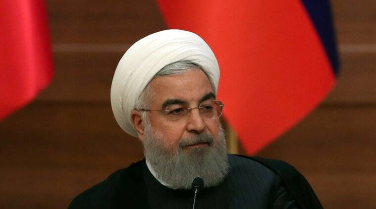 Iran President warns US of grave consequence if it withdraws from 2015 nuclear deal