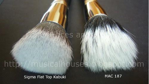 sigma kabuki mac 187 bristles