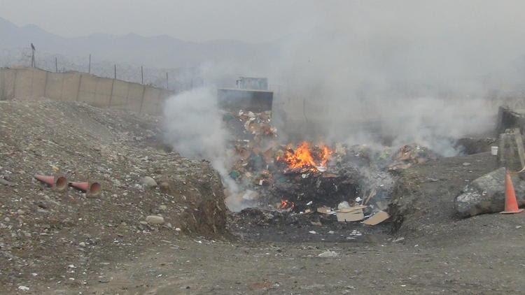Afghan burn pit