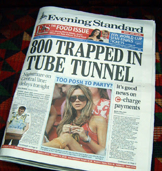 800 Trapped on Central Line