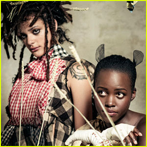 Lupita Nyong'o, Sasha Lane, & More to Model for Pirelli Calendar 2018 (Behind-the-Scenes Pics!)