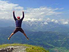 The peak nextdoor in Austria