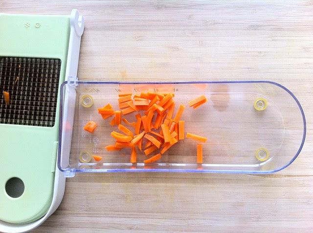 Diced Carrot Pieces