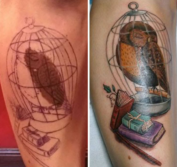 10 Genius Birthmark Cover Up Tattoos Viral In Asia