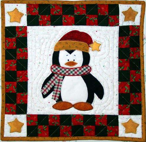 18 Fresh Free Penguin Quilt Patterns Funny Animals Picture