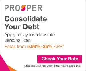 Prosper Debt Consolidation Loans