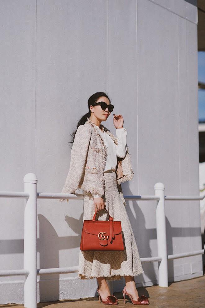Dạo một vòng xem các quý cô Châu Á lên đồ thế nào trong những ngày trời nắng ấm - Ảnh 1.