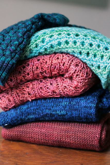 Stack of FO's, waiting to be photographed.