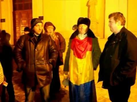[VIDEO] Protest la Suceava - marţi, 31 ianuarie