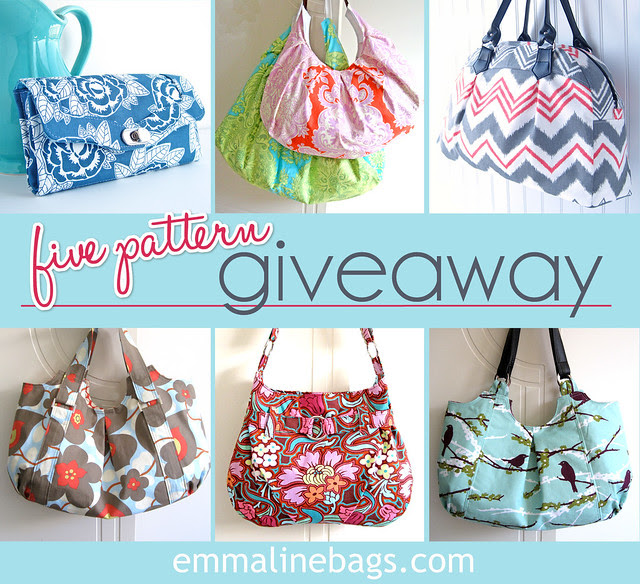 Emmaline Sewing Patterns for Friday's GIveaway!