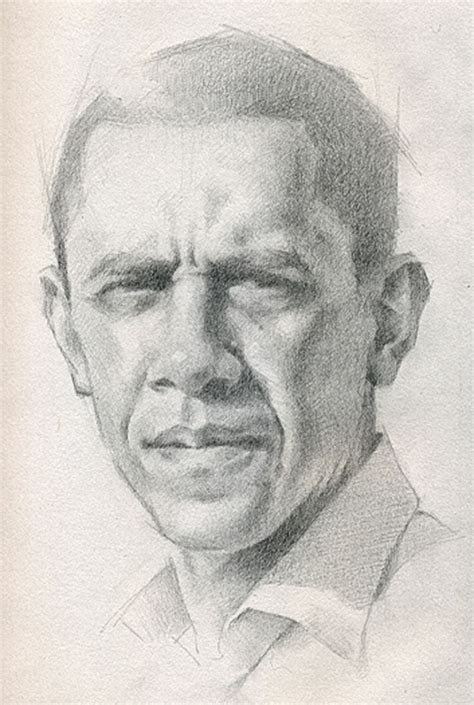 barack obama  president   united states pencil