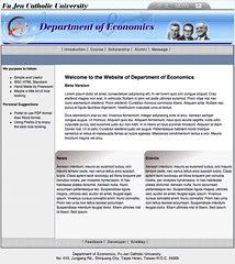 Department of Economics, Fu Jen Catholic University
