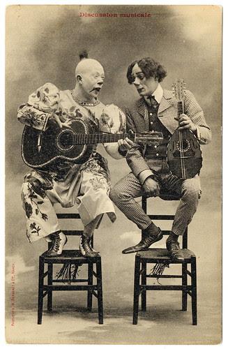 Clown Talk (c.1905) por postaletrice