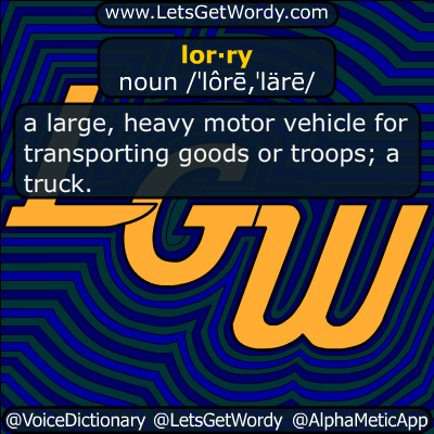 lorry 08/27/2016 GFX Definition