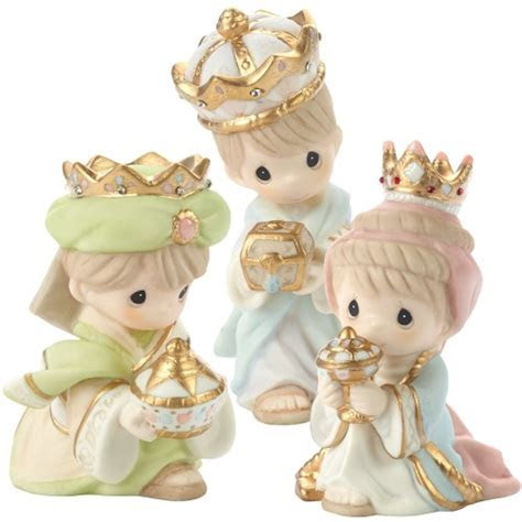 Precious Moments We Three Kings 3 Piece Nativity Set