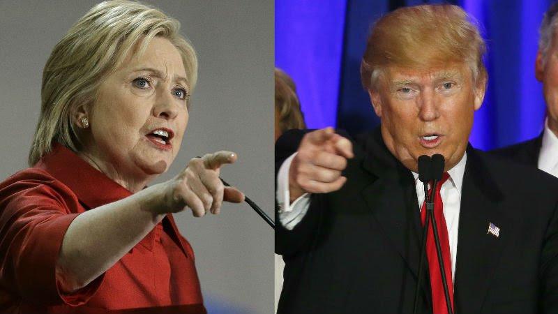 Trump con 137 votos electorales adelanta a Clinton que tiene 104