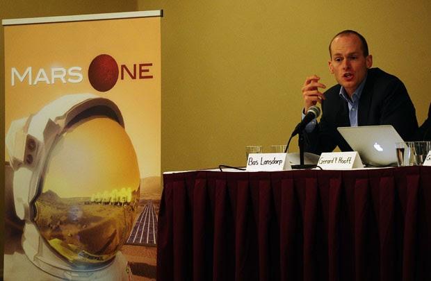 """'Mars One"""" busca 24 voluntários de diferentes nacionalidades (Foto: Emmanuel Dunand/AFP)"""