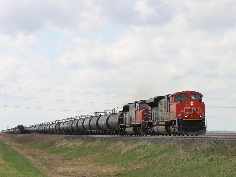 CN 8879 near Winnipeg