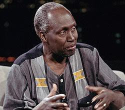 Ngugi wa Thiong'o, Kenyan playwright and novelist has gained international acclaim through his publications which have been translated into many different languages. by Pan-African News Wire File Photos