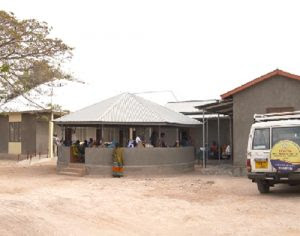 Newly opened care and treatment centre, Bugisi, Tanzania