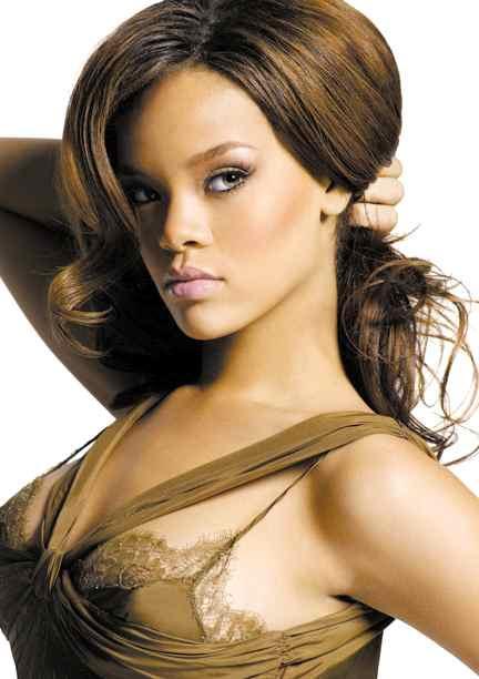 sexy Rihanna hairstyles