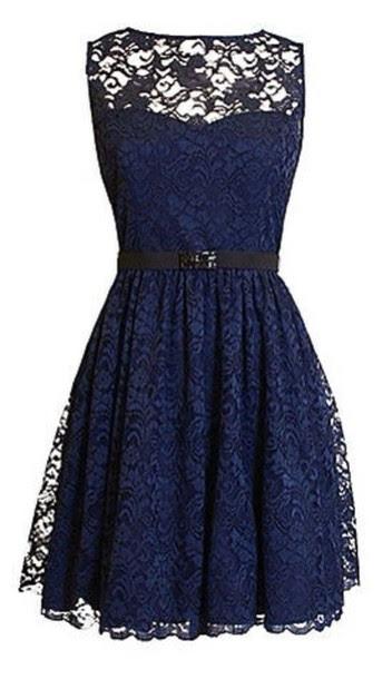 dress naveyblue black lace dress lace cute cute