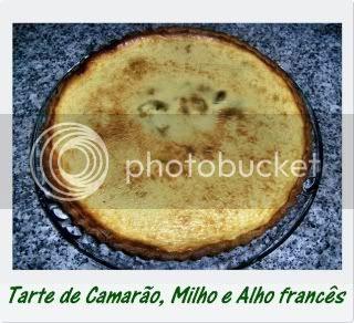 Tarte de Camarão, Milho e Alho francês1