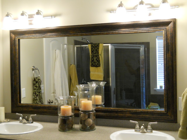 Mirror Frame Kit Traditional Bathroom