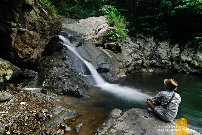 Liktinon Falls at President Roxas, Capiz
