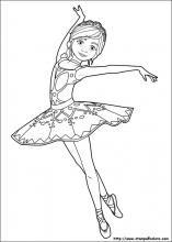 Disegni Di Ballerina Da Colorare