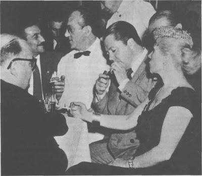 Anibal Troilo, Zita y Carlos Di Sarli, en el Marabú