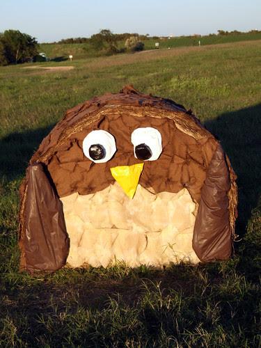 Owl-bale