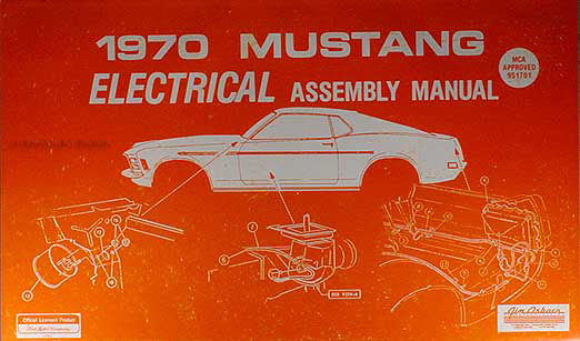 29 1970 Mustang Wiring Diagram