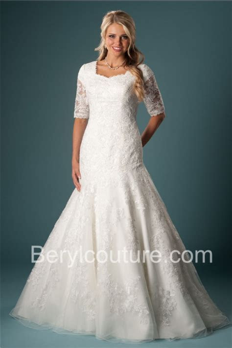 Popular Short Lace Fitted Wedding Dress Buy Cheap Short