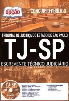 Apostila Preparatória TJ SP 2017-ESCREVENTE TÉCNICO JUDICIÁRIO