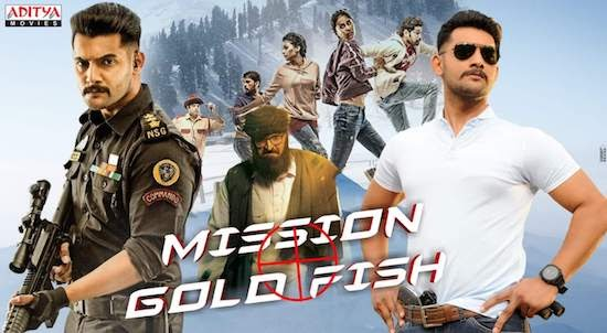 Mission Gold Fish 2020 Hindi Dubbed 720p 480p HDRip 900mb And 300mb