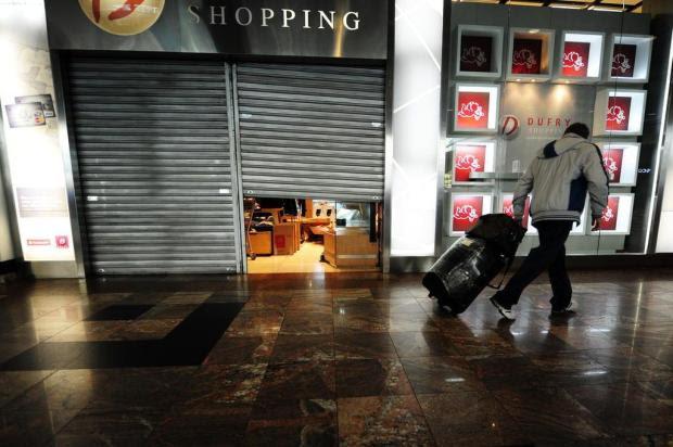 Valor do aluguel derruba comércio no aeroporto Ricardo Duarte/Agencia RBS