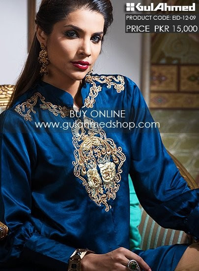 Gul-Ahmed-Eid-Dresses-2012-13-Gul-Ahmed-Embroidered-Double-Shirt-Gown-Dresses-9