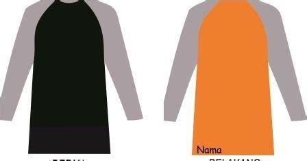 template desain kaos lengan panjang polos format