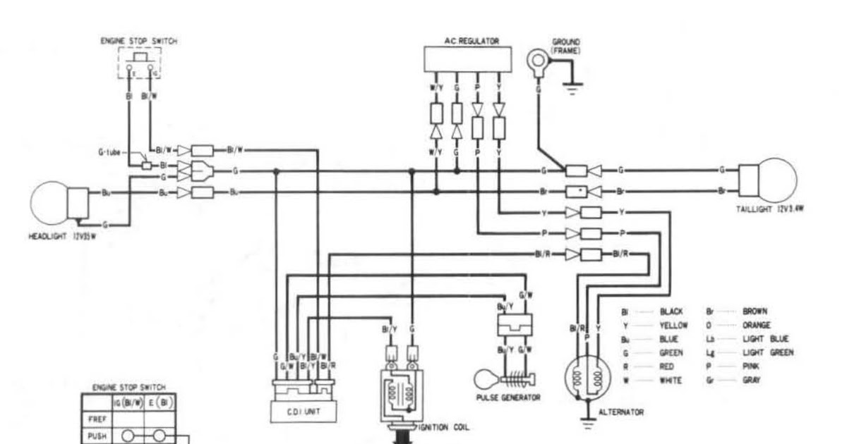 Xr250l Wiring Diagram