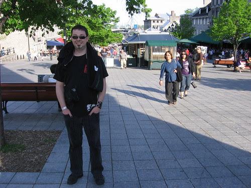 andrew in plaza